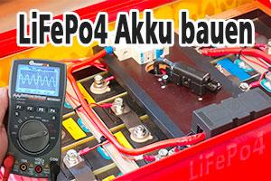 LiFePo4 Akku selber bauen - Video