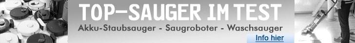 Akku-Staubsauger-Saugroboter-Waschsauger-Test